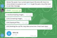 Telegram贴纸(表情包)批量下载方法-荒岛