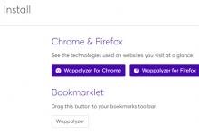Wappalyzer:可识别网站的建站程序以及所使用的技术-荒岛