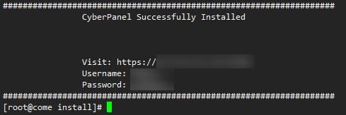 CyberPanel:基于OpenLiteSpeed的WEB控制面板