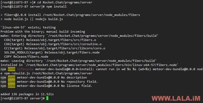 使用RocketChat搭建一个属于自己的IM聊天系统