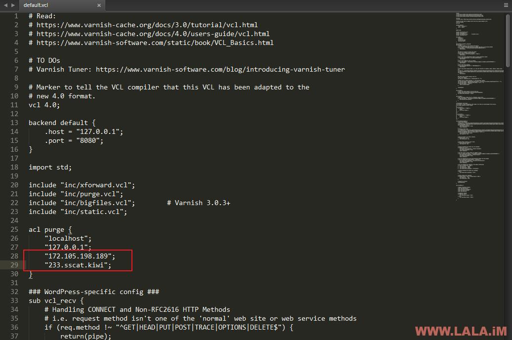 详细安装配置Varnish高性能缓存服务器并加速WordPress