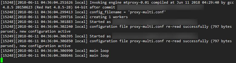 MTProxy:专为Telegram打造的代理工具