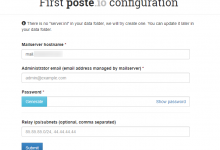 使用Poste.io自建邮件服务器-荒岛