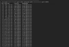 iperf:网络带宽测试工具-荒岛