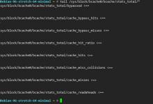 bcache缓存配置以及certbot证书续期笔记-荒岛