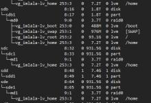 Debian9 RAID0 with LVM(Dacentec 8T)-荒岛