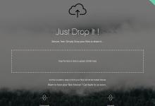 Dropit:一个简洁的文件上传工具-荒岛