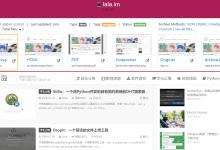 ArchiveBox:开源的WEB存档-荒岛