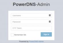搭建权威DNS服务器:PowerDNS+PowerDNS-Admin-荒岛