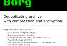 borgbackup:开源的数据备份工具-荒岛