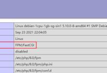 Debian11配置Apache2使用PHP-FPM-荒岛